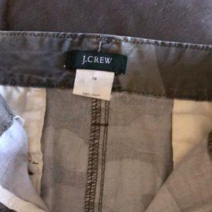 J. Crew Skirts - Jcrew camo Jean skirt